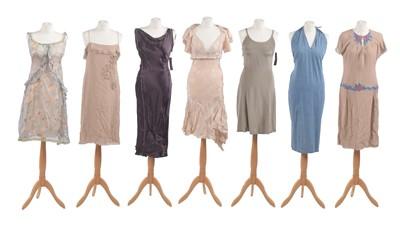 Lot -A selection of designer summer dresses