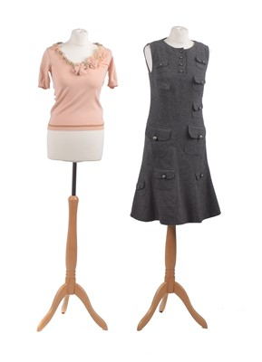 Lot 3-Two garments by Moschino