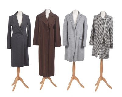 Lot 123 - Four designer coats