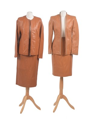 Lot 22 - Two designer leather sets