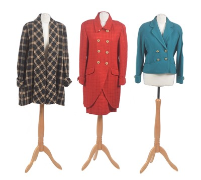 Lot 46 - Three jackets by Caroline Charles