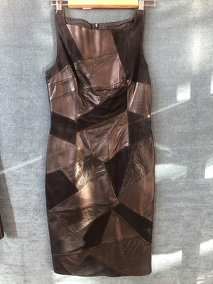 Lot 21 - A selection of designer leather clothing