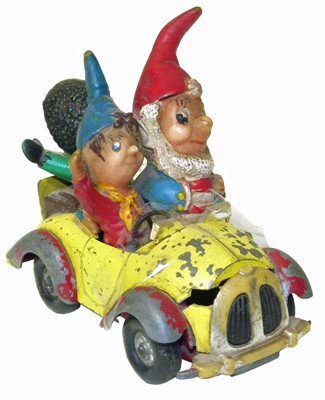 Lot 18-Corgi Comics Noddy's car.