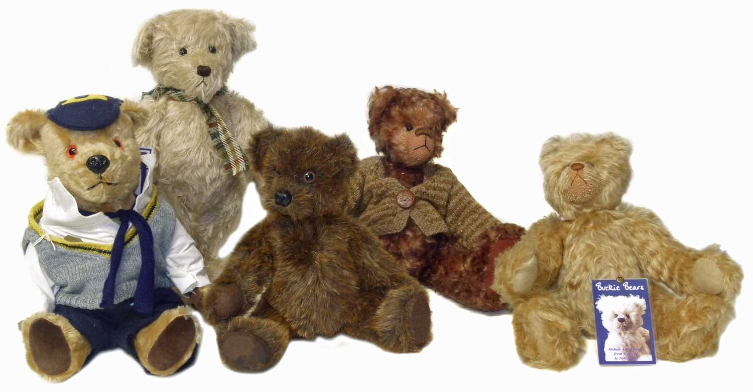 Lot 17-Colour Box collection Morris Minor Bear by Deans Ragbook Company etc.