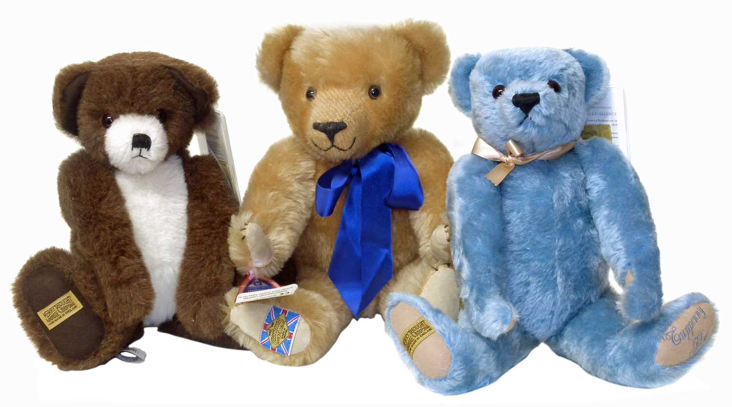 Lot 44-Merrythought 'Tuppeny Blue' bear with certificate and box etc.