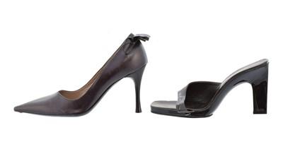 Lot 75 - Two pairs of designer heels