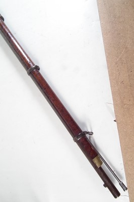 Lot 34-Enfield .577 Snider rifle