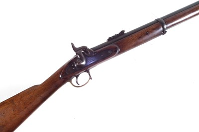 Lot 38-Enfield three band percussion rifle