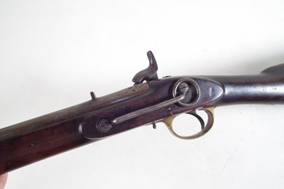 Lot 39-Enfield percussion cavalry carbine