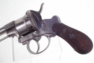 Lot 2-9mm pinfire revolver