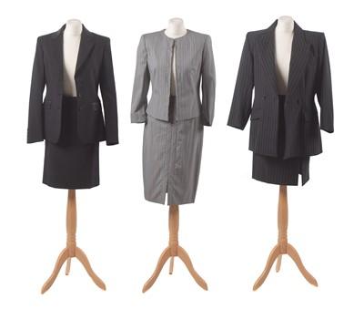 Lot 37-Three designer suits