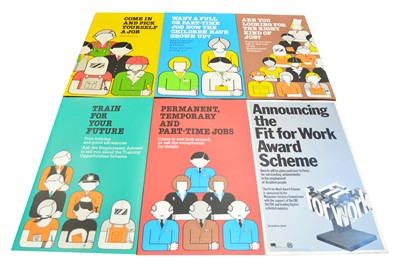 Lot 87 - Selection of 31 unframed employment posters