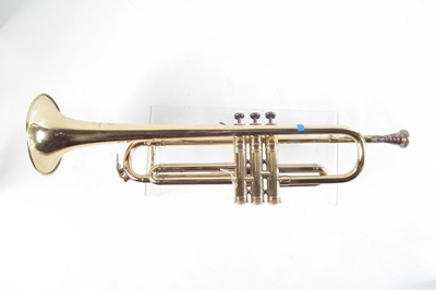 Lot 29 - Rene Guenot Trumpet, fitted with Boosey and Hawkes mouthpiece.