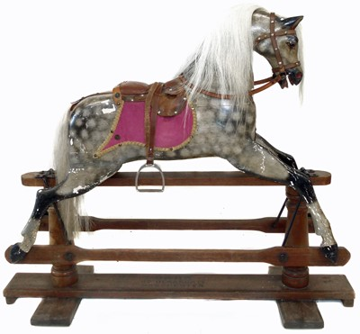 Lot 70-Victorian rocking horse