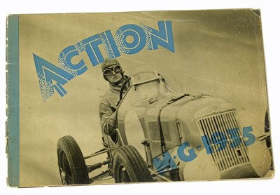 Lot 97 - Action MG 1935, 8-page brochure showing works etc.