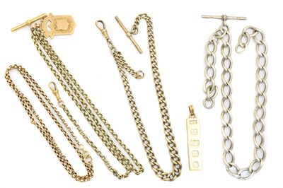 Lot 74 - A selection of chains