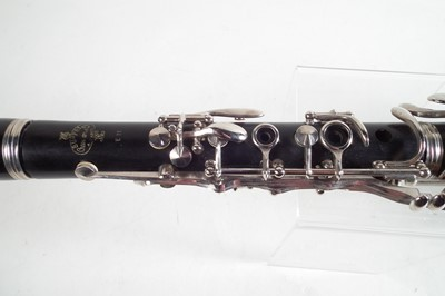 Lot 25 - Buffet EII clarinet, in case, serial number 341762.