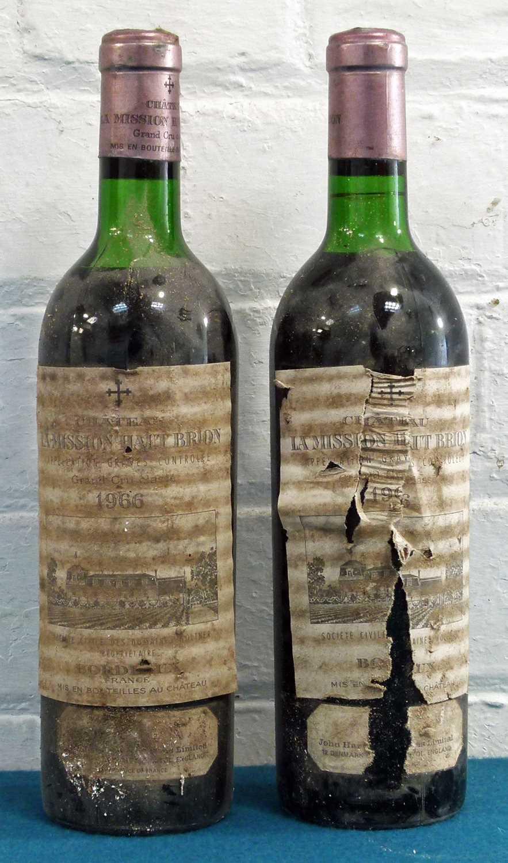 Lot 6 - 2 Bottles Chateau La Mission Haut Brion Grand Cru Classe Graves
