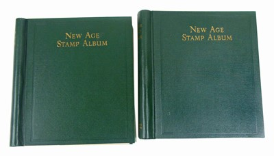 Lot 80 - Two New Age stamp albums