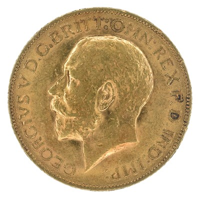 Lot 80 - King George V, Sovereign, 1913.