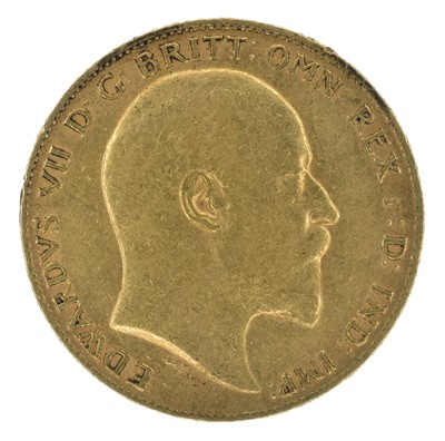 Lot 77 - King Edward VII, Half-Sovereign, 1902.