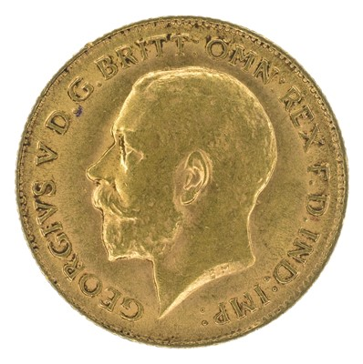 Lot 81 - King George V, Half-Sovereign, 1913.