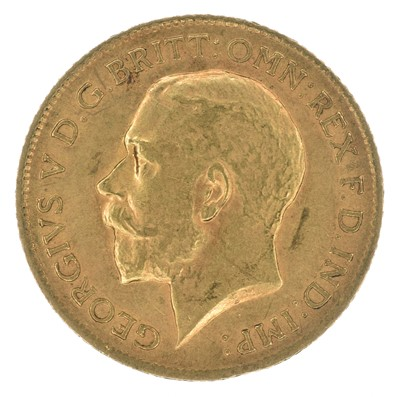 Lot 82 - King George V, Half-Sovereign, 1915.
