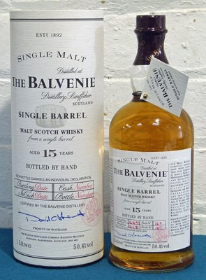 Lot 49 - 1 Litre bottle 'The Balvenie' Single Barrel 15 Year Old