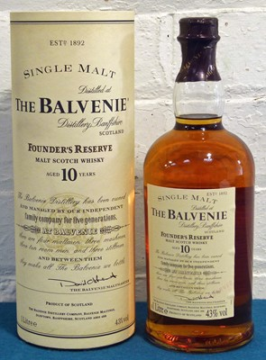 "Lot 50 - 1 Litre Bottle The Balvenie ""Founders Reserve"""