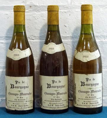 Lot 11 - 3 Bottles Chassagne-Montrachet Premier Cru 'Les Caillerets'
