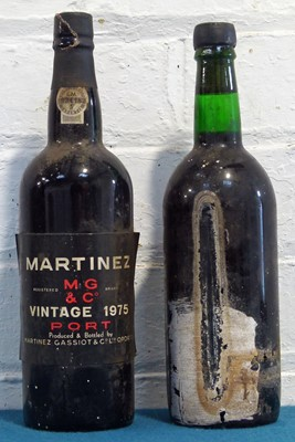 Lot 42 - 2 Bottles Martinez Vintage Port