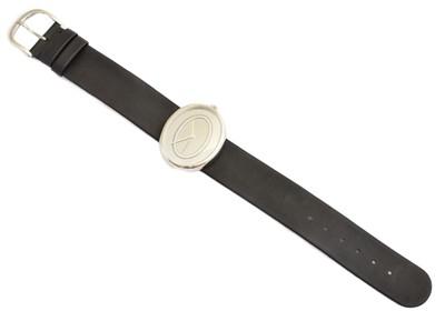 Lot 267 - A Georg Jensen Vivianna Oval watch