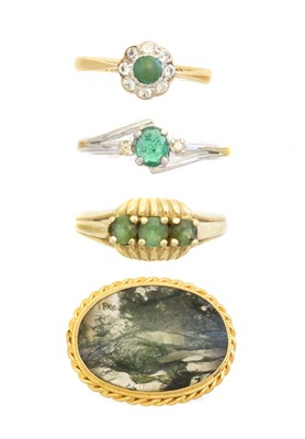 Lot 122 - A selection of jewellery