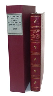 Lot 106 - Forwood Sir W.B. Windermere And The Royal Windermere Yacht Club