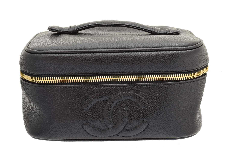 Lot 144 - A Chanel vanity case, circa 1994-7