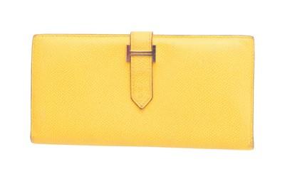 Lot 63 - A Hermès Bearn wallet