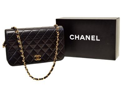 Lot 117 - A Chanel Mademoiselle Timeless Full Flap Shoulder Bag
