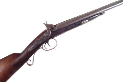 Lot Percussion double-barrel shotgun