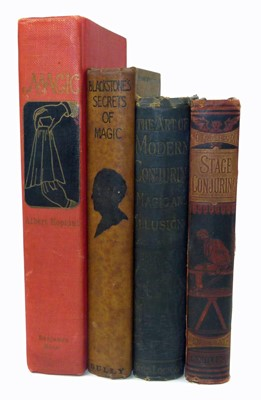 Lot 112 - Four volumes of conjuring and stage magic