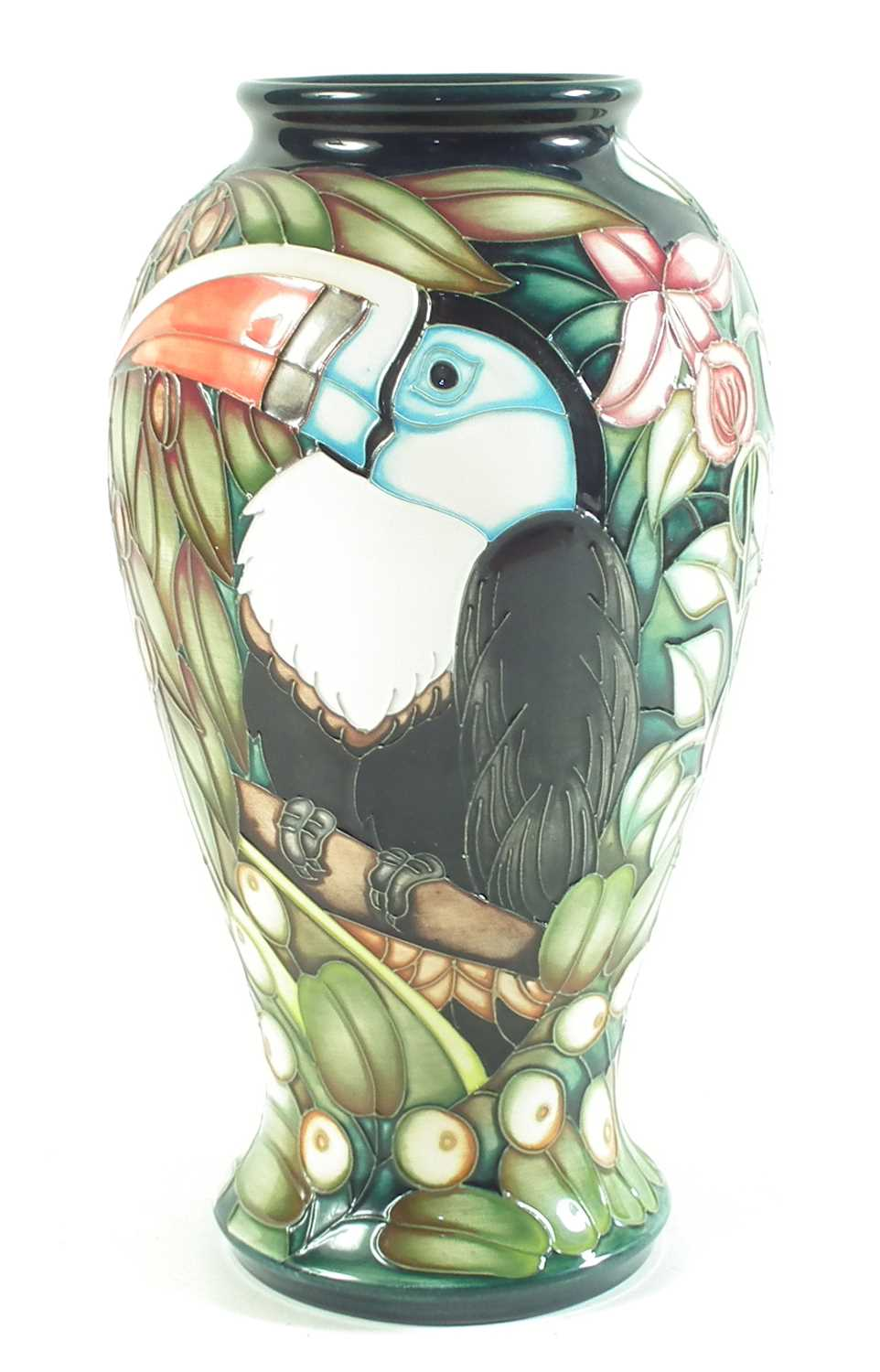 Lot Moorcroft vase  by Sian Leeper