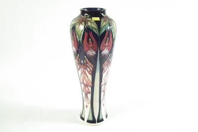 Lot Moorcroft vase by Rachael Bishop