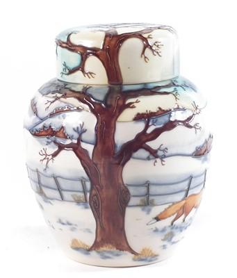 Lot 182 - Moorcroft ginger jar designed by Anji Davenport