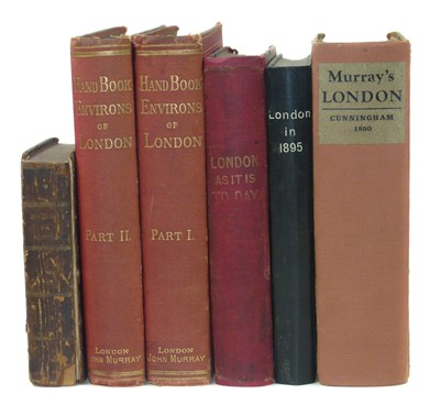 Lot 115 - 6 Volumes on the Topic of Victorian London