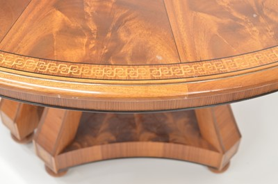 Lot Pair of Mahogany side tables by Silver Linings workshop