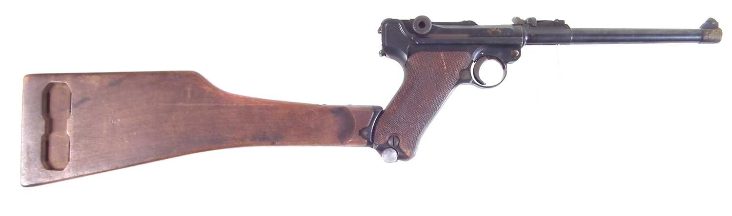 Lot 29 - Deactivated WWI German Artillery Luger