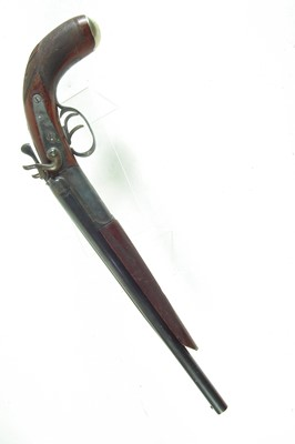 Lot 38 - Deactivated double barrel sawn-off shotgun