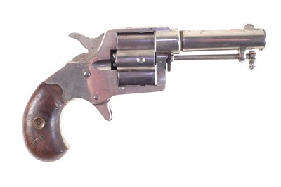 Lot Colt four shot .41 rimfire revolver.
