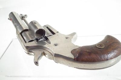 Lot Colt four shot .41 rimfire revolver.