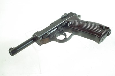 Lot Deactivated Walther 9mm P38 semi-automatic pistol.