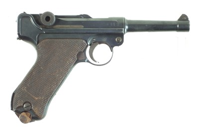 Lot Deactivated Luger 9mm semi-automatic pistol